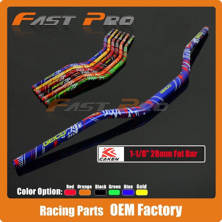 Motorcycle Motocross Aluminum 1 1/8 28mm  Handlebars Handle Tubes For KTM CRF RMZ KXF YZ85 YZ125 YZ250 YZ250F YZ450F WR250F