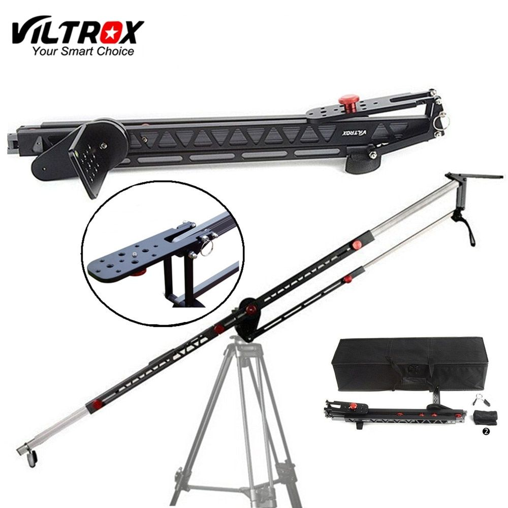 Viltrox YB-3M 3m Professional Extendable Aluminum Alloy Strong Camera Video Crane Jib Arm Stabilizer for Canon Nikon Sony DSLR