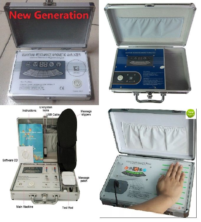 Good Quality New Massager Body Analyzer in English Spanish or other Languages Version DHL Free Shipping