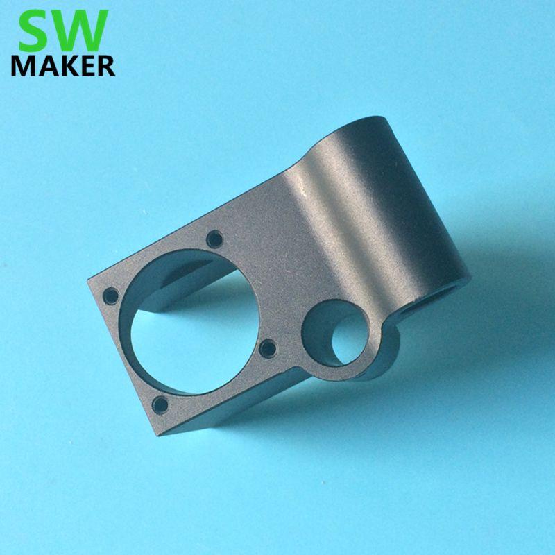 SWMAKER UM2 + 3D drucker V5 jhead einzigen extruder montieren Ultimaker2 + alle metall druckkopf heißer montieren ende Für 6mm glatte welle