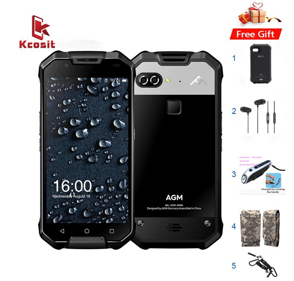Original AGM X2 IP68 Rugged Waterproof Phone Android 7.1 5.5