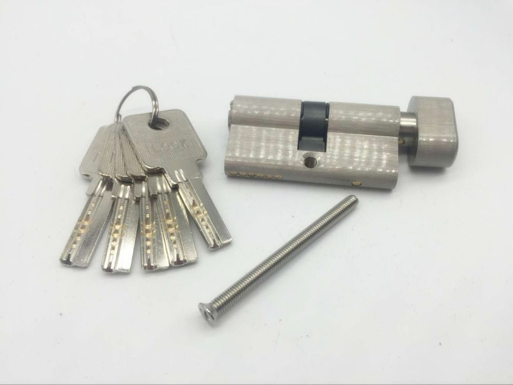 Pure copper thickening single open door lock core is 60 mm cylinder for 35 to 45mm thick door