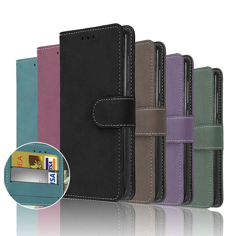 Handy Fällen Abdeckung für HTC Desire 626 626 s 626g 626g + Fall Shell Frosted Zurück Abdeckung fall Karte Halter Taschen PU Leder Brieftasche
