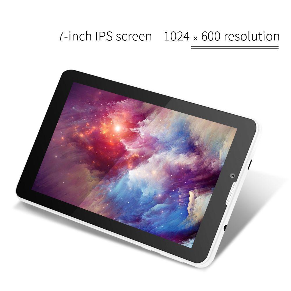 Chaude 3g Phablet Yuntab 7 pouce E706 Tablet PC 1 GB + 8 GB Android5.1 Quad Core IPS 1024*600 avec Double Caméra GPS Bluetooth 7 8 10 10.1