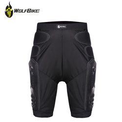 Wolfbike Moto Pantalon Respirant Homme Motocross Course Protection Pad Moto Pantalon Sports de Plein Air Cyclisme Pantalon