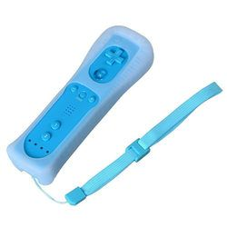 With Motion Plus Wireless Remote Controller with Case for Nintendo Wii Wii U Game Remote Nunchuck Controller Remote for Wii U