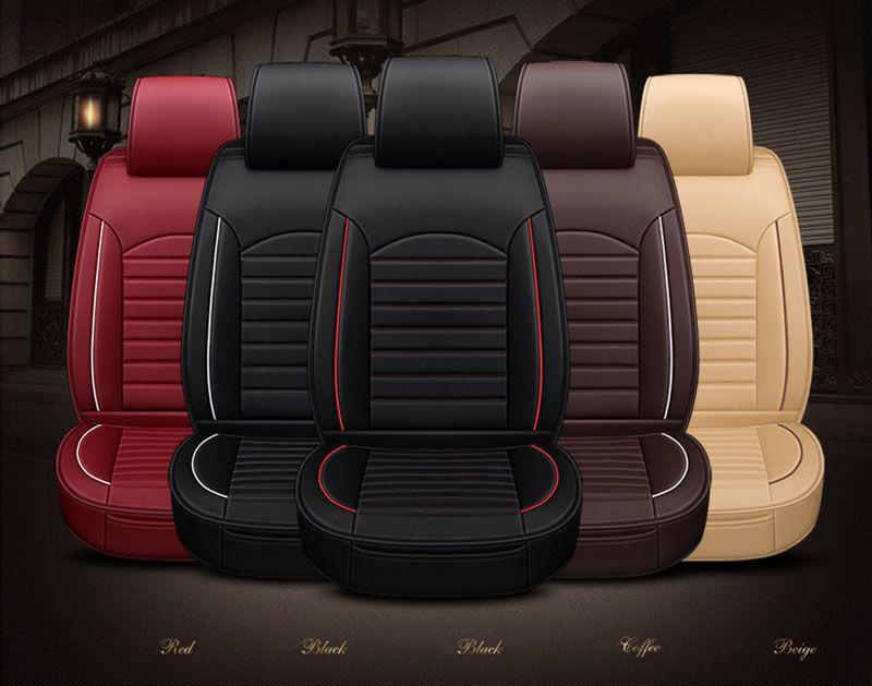 GEEAOK 2018 neue stil leder Universal Autositzbezüge für Toyota Camry Crown REIZ Prado RAV4 auto zubehör auto styling