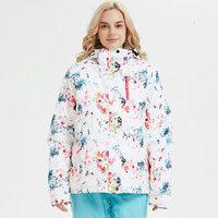Для женщин лыжный костюм бренды зима 2018 высокое качество теплые непромокаемые ветрозащитная одежда зимние брюки для девочек и куртк