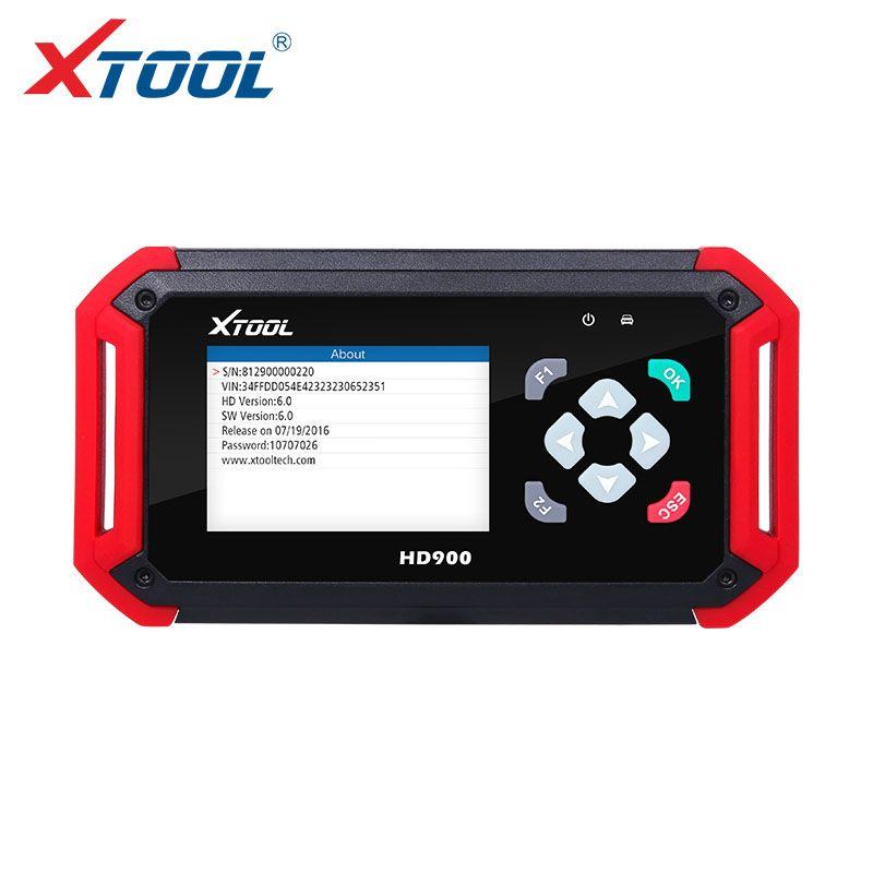 XTOOL Neu Kommen HD900 Eobd2 OBD2 KANN BUS Auto Heavy Duty Diagnose Scanner Codeleser XTOOL HD900 Codeleser