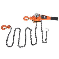 1.5T 10ft Lever Hoist Chain Lifting Jack Ratchet Puller Equipment Alloy Steel Lifting Tools