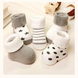 2017 NEW Cotton Baby socks Winter socks boy girl for new cartoon baby socks CH-39E2R