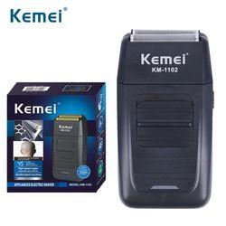Kemei KM-1102 Rechargeable Shaver For Men Face Care Multifunction Shaver Men's Strong Shaver Barbeador EU US