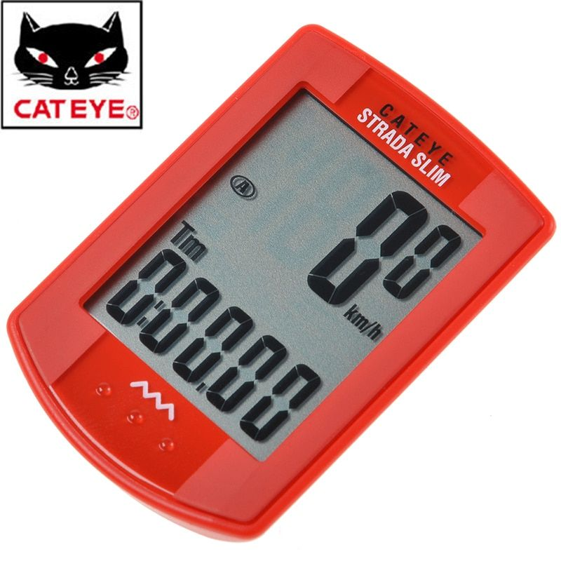 CATEYE CC-RD310W Cycling Bike Wired Digital Computer Odometer Speedometer With LCD Display Bike Bicycle Cycling Computer 2 Color