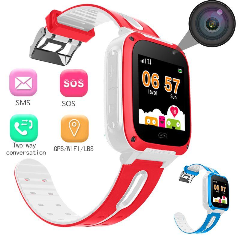 BANGWEI 2018 Neue Smart uhr LBS Kind SmartWatches Anti Verloren Baby Uhr für Kinder SOS Anruf Location Finder Locator Tracker + Box