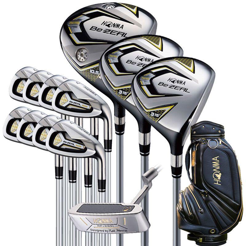Neue 525 Golf Clubs HONMA BEZEAL 525 Komplette Set HONMA Golf fahrer. holz. irons. putter Graphit Golf welle plus tasche Freies verschiffen