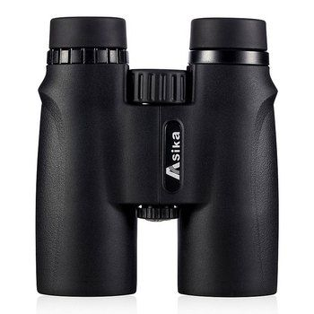 Binoculars Asika 10x42 high quality Telescope military night vision binoculo high power  telescopio for hunting optics black