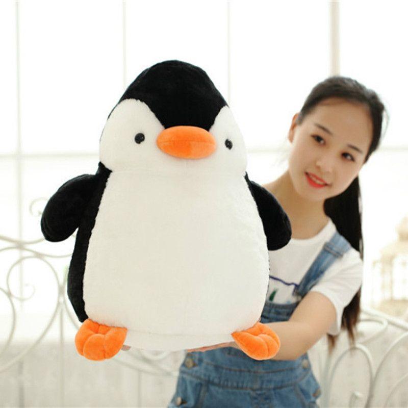 Peluche de haute qualité mignon pingouin grand géant grande peluche peluche douce poupée oreiller cadeau