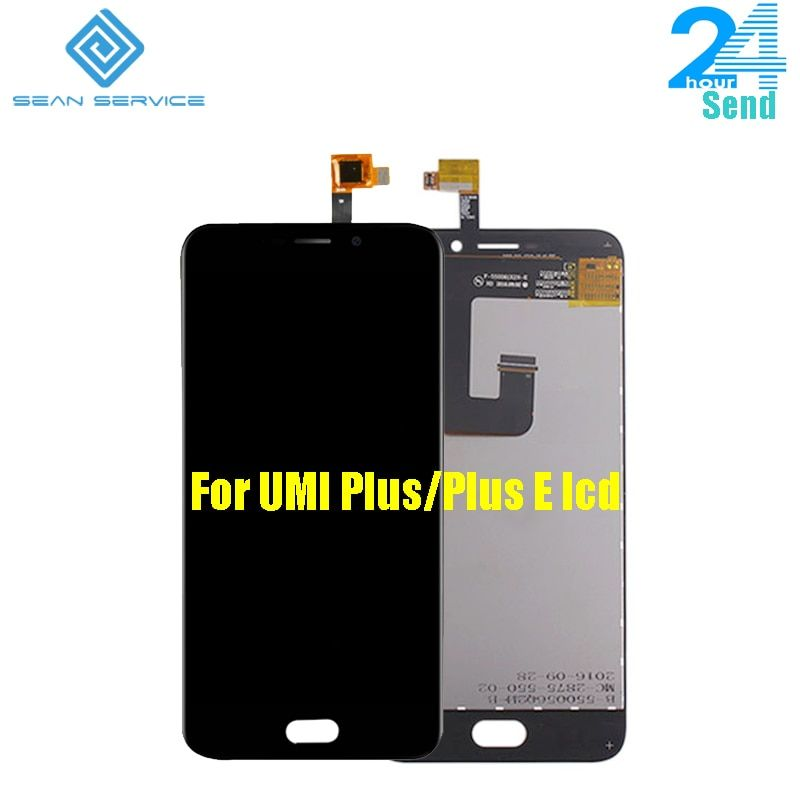 5.5 inch For UMi Plus 100% Original LCD Display and Touch Screen Digitizer Assembly lcds For Umi plus E Octa Core 1920x1080P