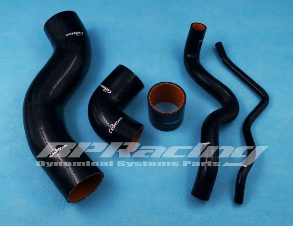 Silicone Turbo Intake Hose / Pipe /Tube Kit Black  FOR VW Golf IV / BORA 1.8T