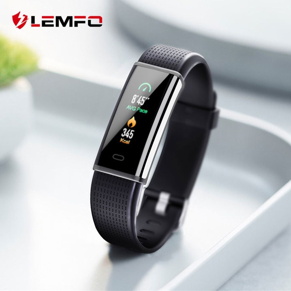 LEMFO 2018 New ID130 Plus Smart Band Activity Tracker For Iphone Huawei Xiaomi Android Phone Heart Rate Monitor Watch Wristband