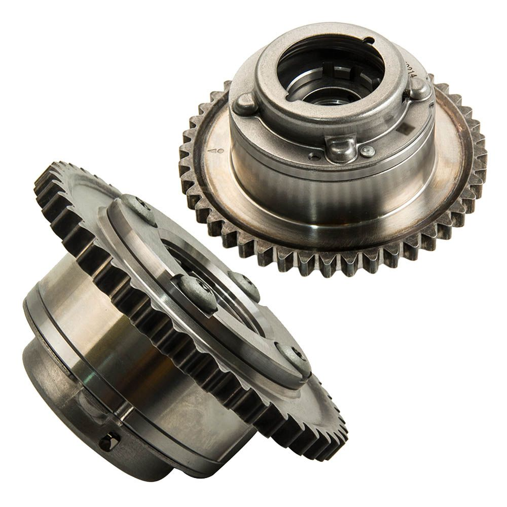 Nockenwelle Teller Antrieb für Mercedes W204 C250 SLK250 1.8L 2710503347 2710503447 2710502947 (Auspuff + Intake) Cam Gears
