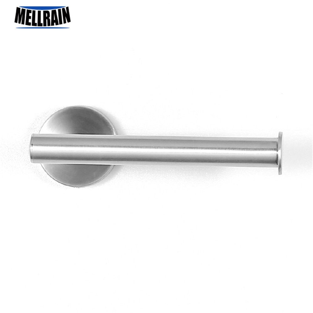 Bathroom accessories 304 stainless steel toilet paper holder simple round paper rack wall mounted Lavatory toilet paper hook