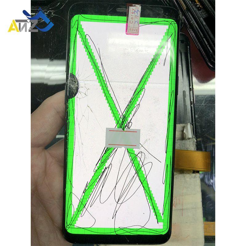 Réparation bord écran Separete verre pratique Lcd pour samsung S7Edge/S8 Edge/S8 Plus/Note8 G935/G955/N950 écran à points en verre cassé