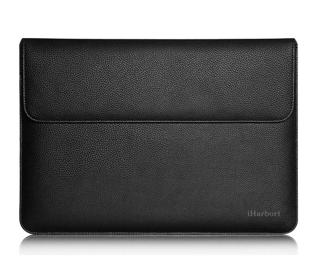 Sleeve Bag for iPad Pro 12.9 - iHarbort PU Leather Wallet Case Bag for iPad Pro 12.9