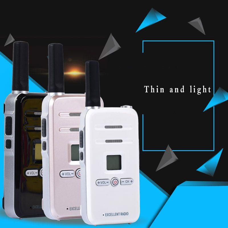 2pcs Walkie Talkie Radio TDX TD-Q7 3W Portable Ham CB Radio Two Way Handheld HF Transceiver Interphone