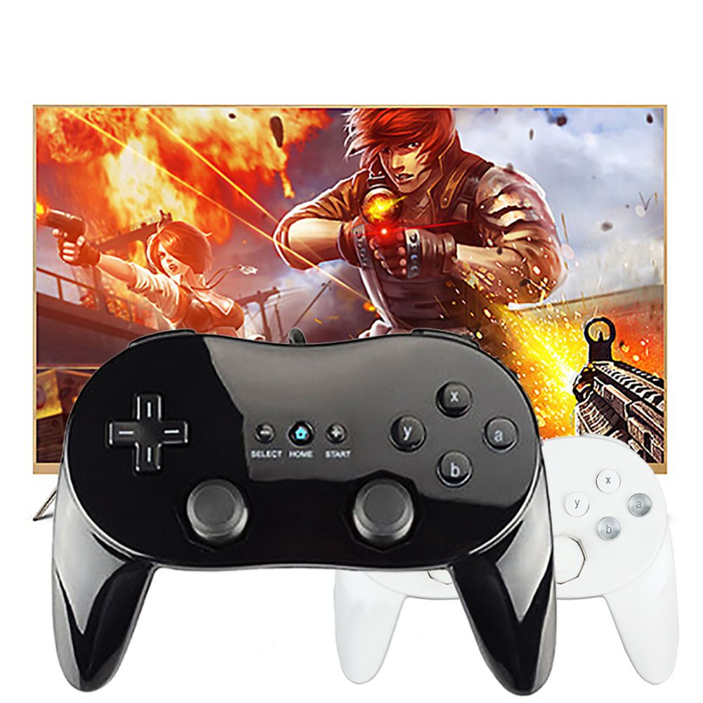 JESBERY Classic Wired Game Controller Gaming Remote Pro Gamepad Shock Joypad Joystick For Nintendo Wii Second-generation