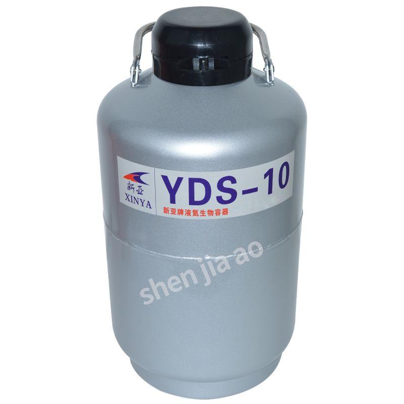 YDS-10 Hohe Qualität Flüssigkeit stickstoff container Cryogenic Tank Dewar mit Straps 10L