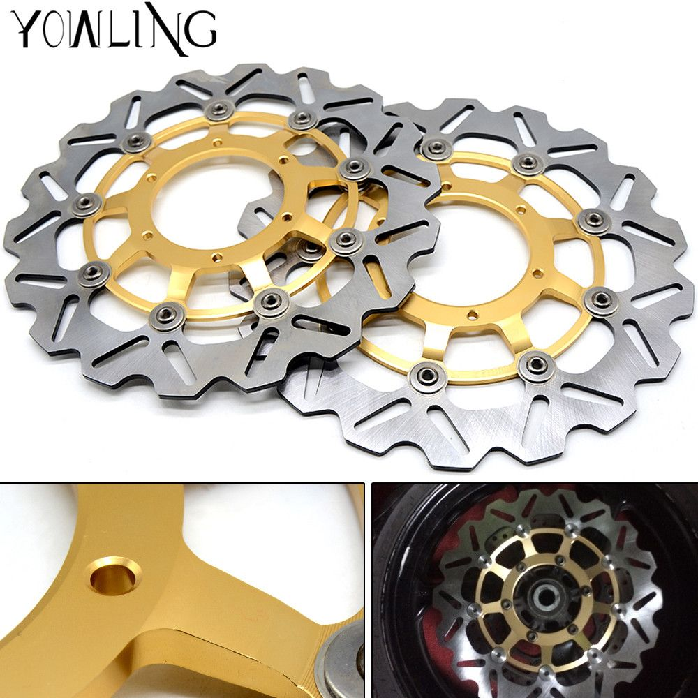 High quality Motorcycle Front Floating Brake Disc Rotor For Honda CBR1000RR CBR 1000 RR 2008 2009 2010 2011 2012