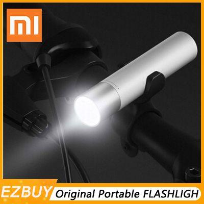 Xiaomi Tragbare Taschenlampe 3350 mAh USB Chargin11 Einstellbare Leuchtdichte Modi Drehbare Lampe HeadLithium Batterie