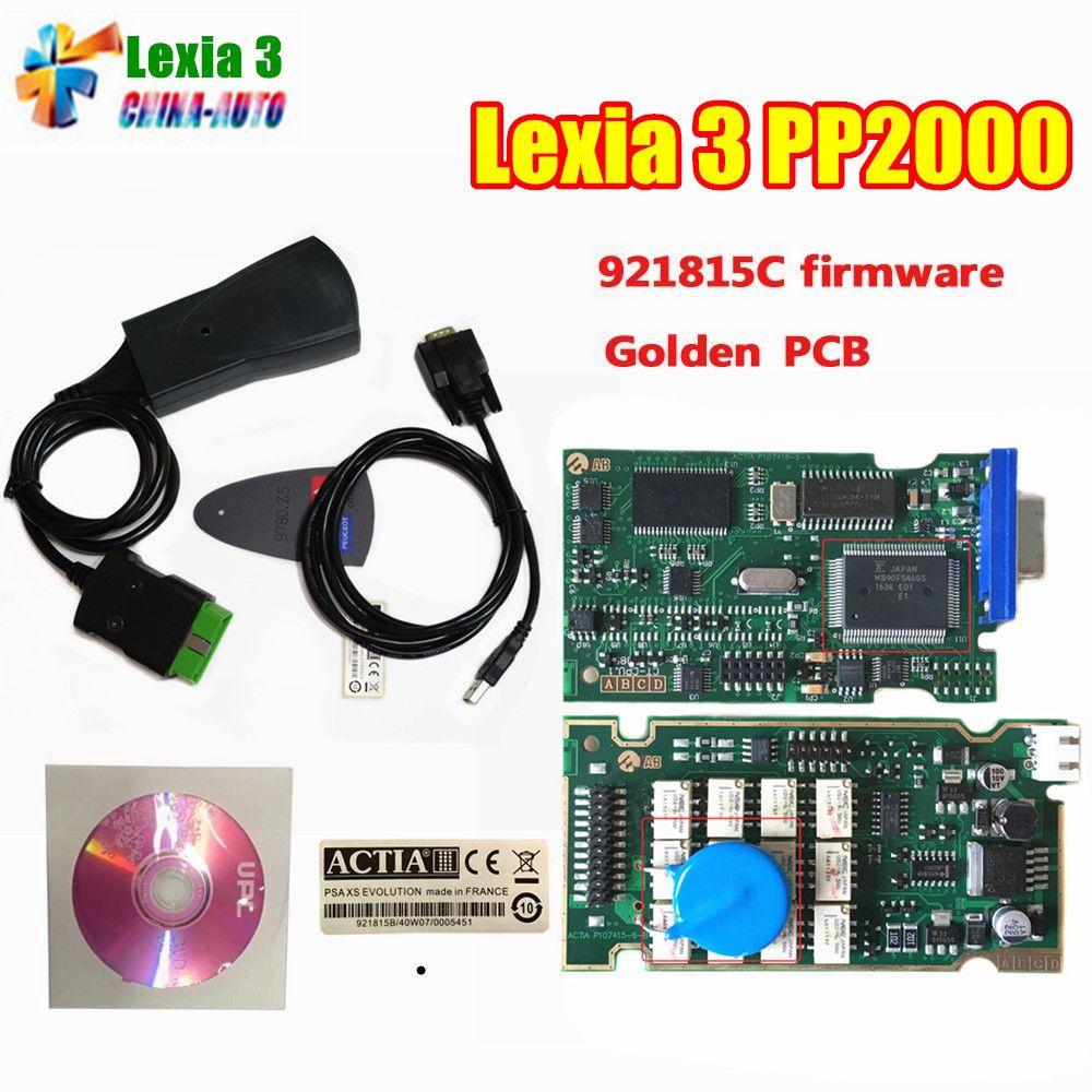 Lowest Price Lexia 3 PP2000 Lexia3 V48 V25 Diagnostic Tool Lexia-3 Auto Code Reader Scanner Automotivo Scaner Diagbox V7.83