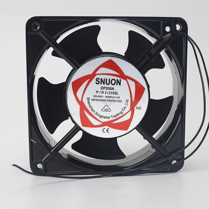 Cooling fan DP200A 2123XSL 12038 120mm Sleeve Bearing 220-240V  Axial fan