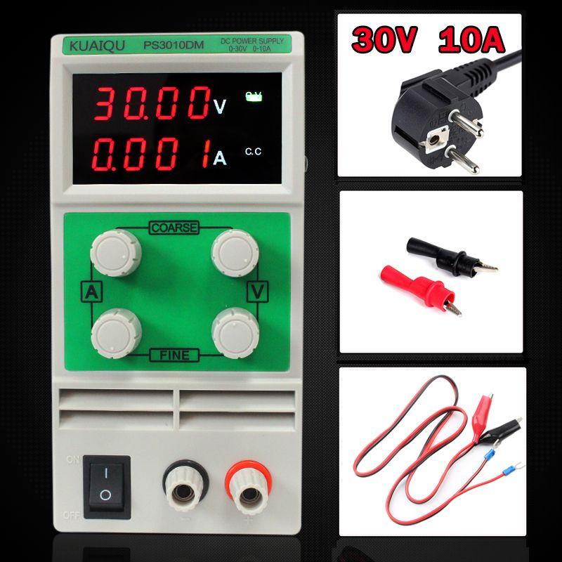 Mini Adjustable DC Power Supply,laboratory Power Supply,Digital Variable Voltage regulator 30V10A Four display PS3010DM