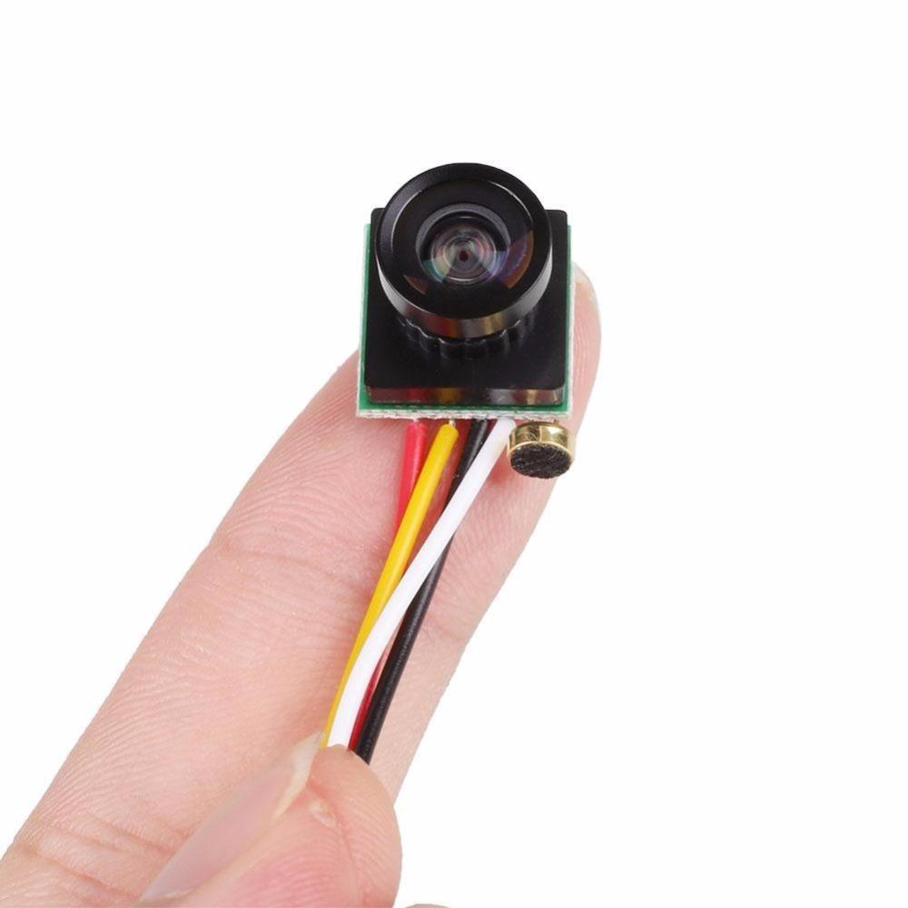 Esddi Vente Chaude Mini Caméra 120 Degrés Grand Angle Objectif 600TVL Couleur Mini Micro Caméra FPV PAL/NTSC