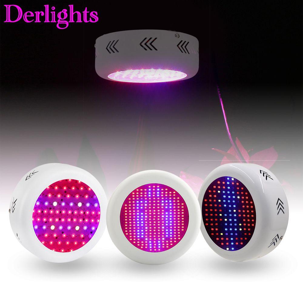 130 W/72*3 W/300 W UFO LED à spectre complet élèvent la lumière AC85 ~ 265 V LED élèvent la lampe pour la croissance et la floraison d'intérieur de plante