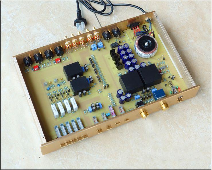 NEW arrive breeze audio HI-END Classic Pre-amplifier Refer Switzerland FM255 Preamplifier