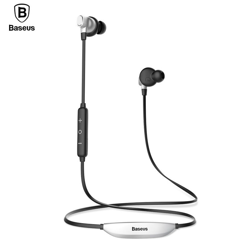 Baseus S03 Wireless Headphones Bluetooth Earphone Sport Waterproof Stereo Magnet Headset Auriculares Earbuds With Mic For Phone
