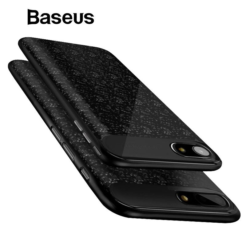 Baseus Battery Case For iPhone 7 6 6s Plus Charger Case 2500mAh 3650mAh Battery Charging Case Cover For iPhone Power Bank Case