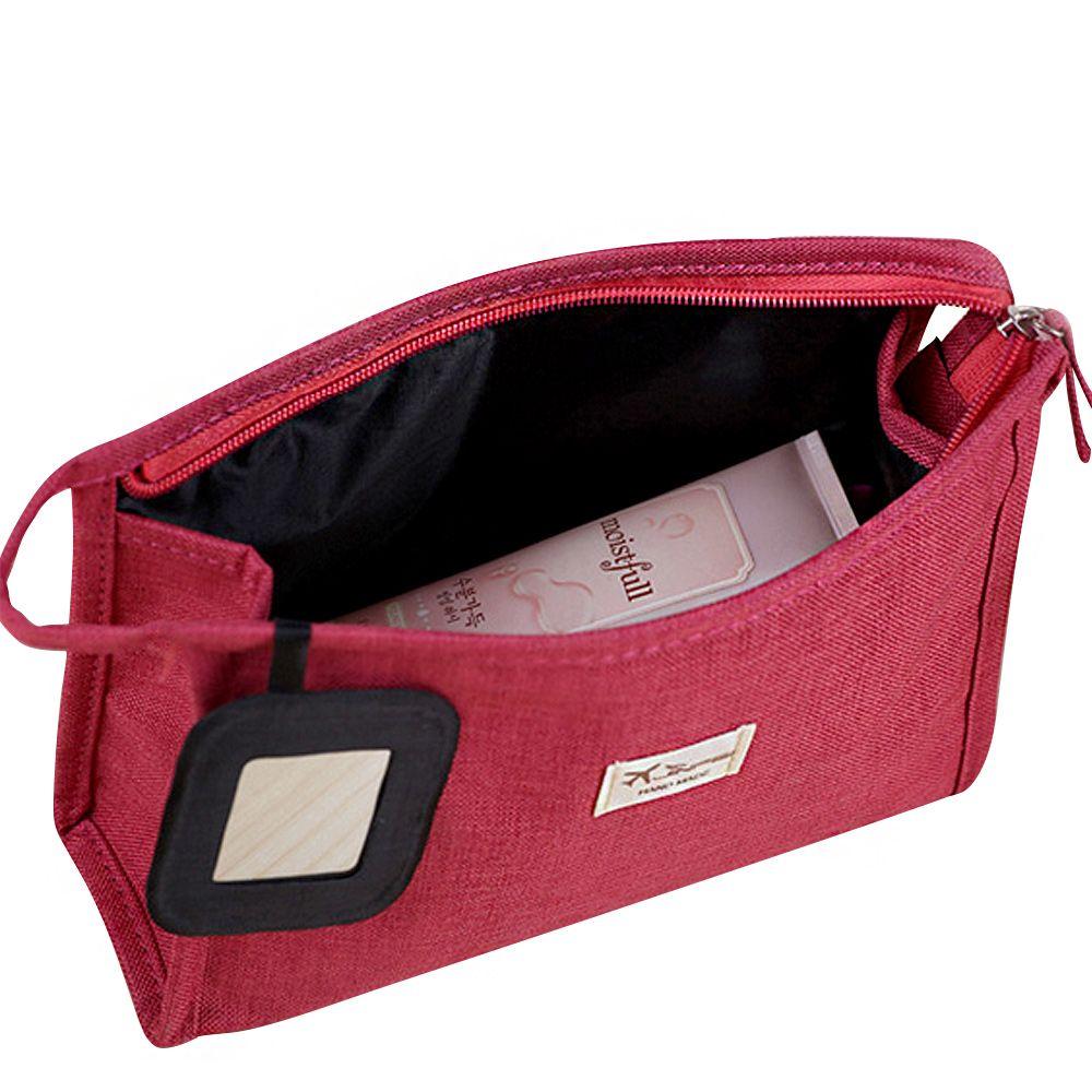 JJDXBPPDD 600D Matte tissu Zipper nouveau femmes sac de maquillage cosmétiques sacs étui maquillage organisateur de toilette rangement voyage lavage poche