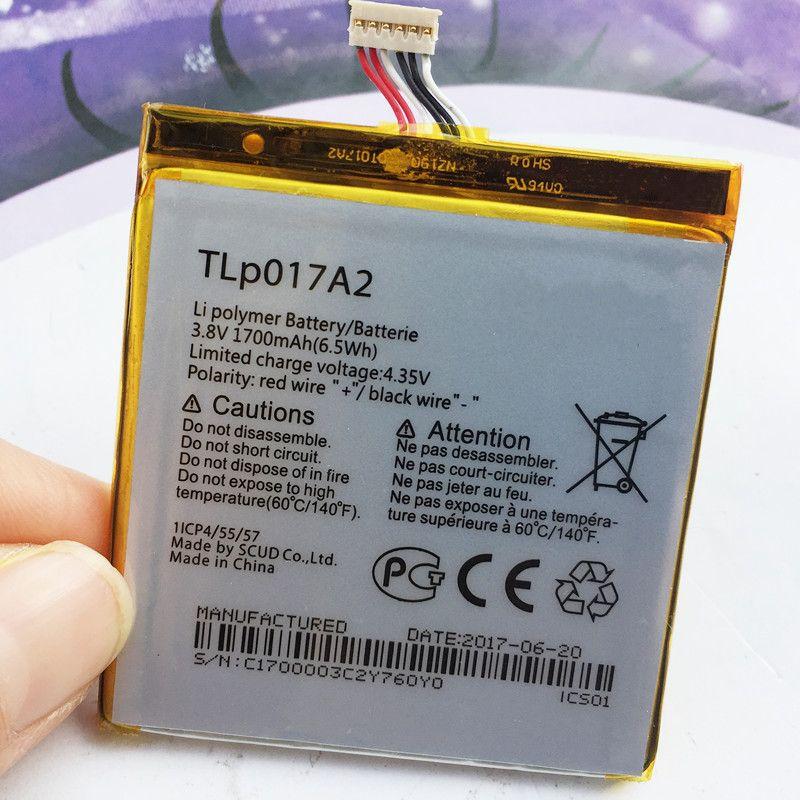 Original High Quality TLp017A1 TLp017A2 Battery For Alcatel Onetouch Idol 2 Mini L OT 6016A 6016D 6016X 6014X Battery 1700mAh