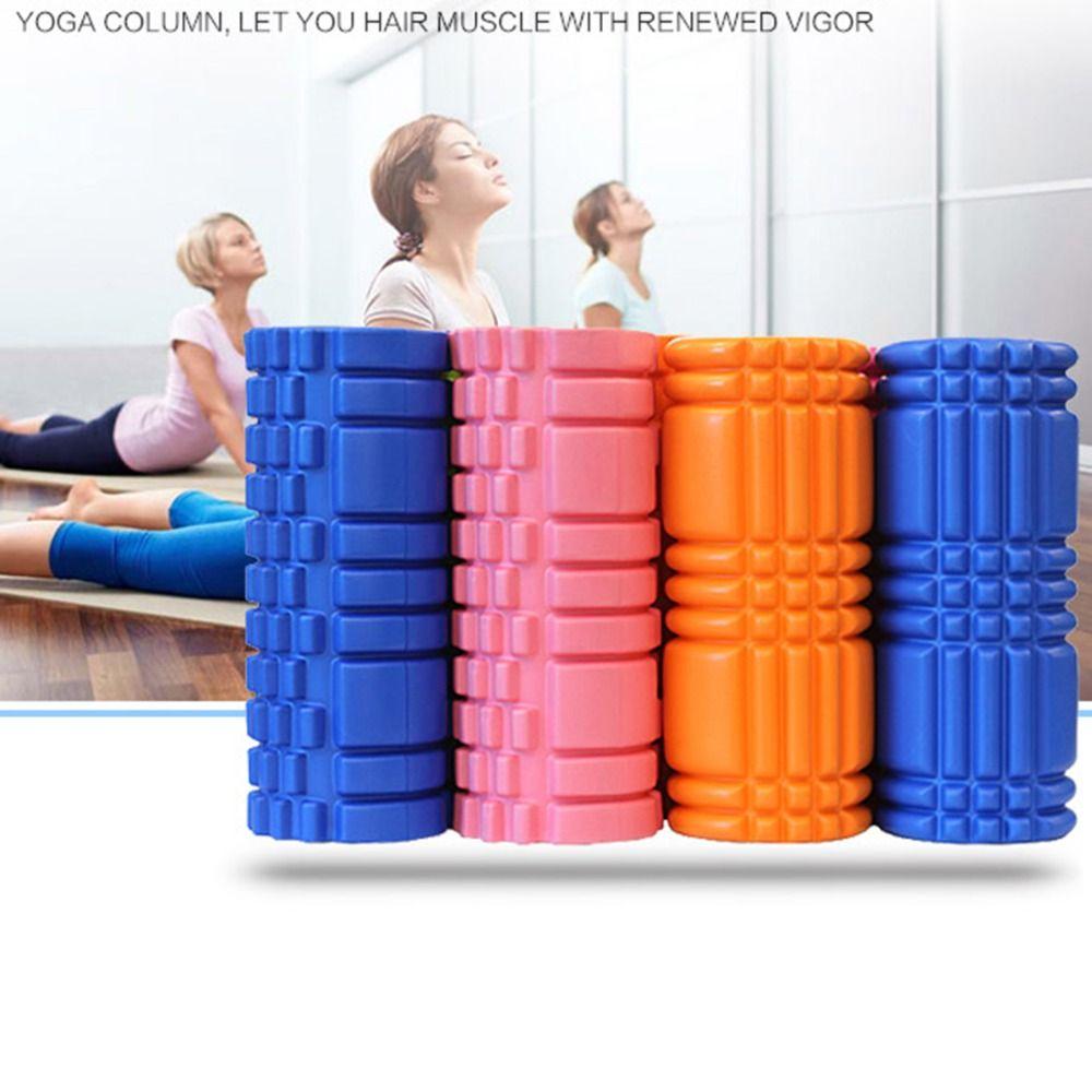 Aolikes De Yoga rouleau en mousse 30 cm Gym Exercice bloc de Yoga Fitness Flottant Point de Déclenchement Physique massage thérapeutique 6 Couleurs