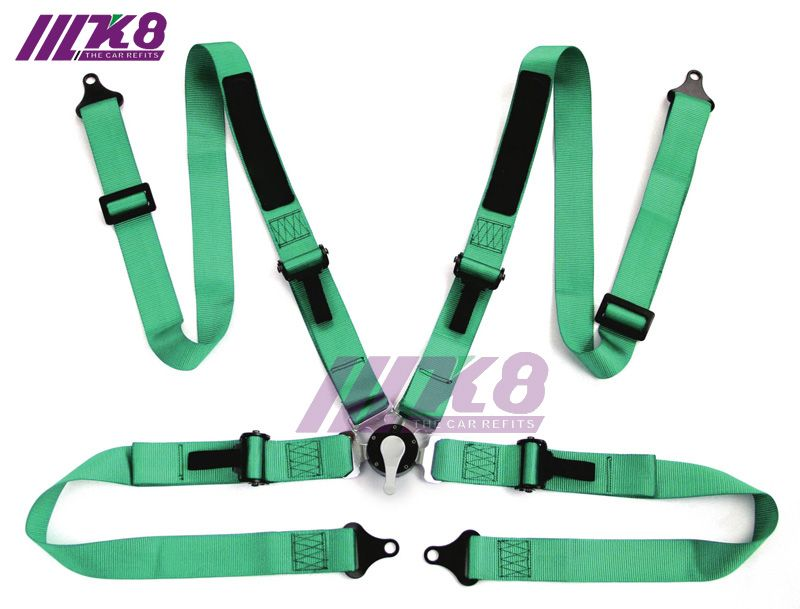 K8-4007 2 Inch 4 point NEW Camlock  Car Auto Racing Sport Seat Belt Safety  Racing Harness