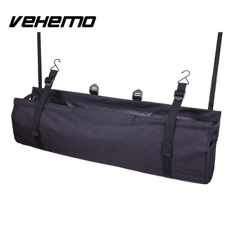 Car Back Seat Multi Pocket Multi-Use  Organizer Bag  Car Storage   Interior Accessories Travel Carriage Bag Large Capacity