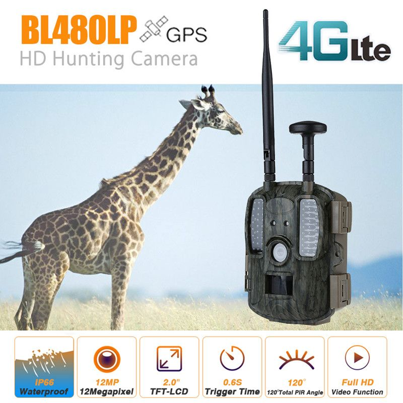 Scout Guard 4G Infrared Hunter Camera Trail Hunting Camera Wildlife Home Surveillance Time Lapse Chasse Photo Traps Foto Chasse