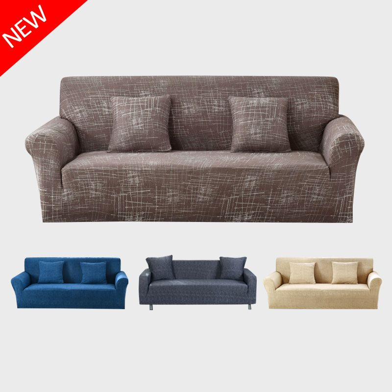Modern Sofa Cover All-inclusive Slip-resistant <font><b>Cheap</b></font> Sofa Towel Elastic Corner Sofa Sectional Covers Spandex Sofa Slipcover 1PC