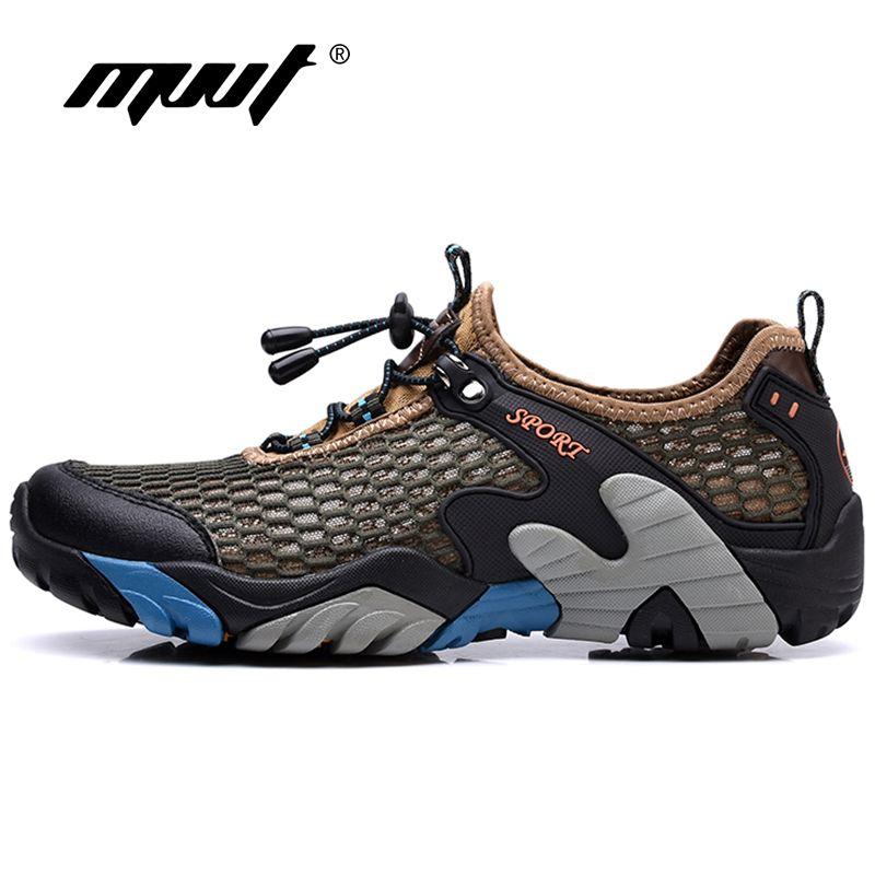 MVVT Summer Outdoor Men Water Shoes Quick-Drying Aqua Shoes Men Sport Climbing Shoes