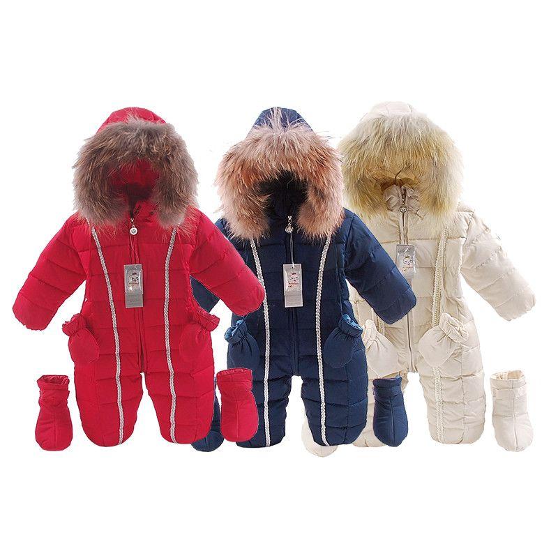 Детские зимние комбинезоны для маленьких девочек теплая одежда 3 шт./компл. Обувь для мальчиков верхняя одежда Детский Спортивный костюм де...